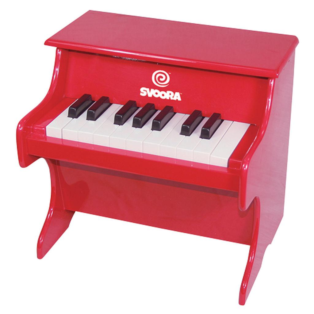 Χριστουγεννιάτικο δώρο για παιδιά που αγαπούν τη μουσική - Κόκκινο πιανάκι