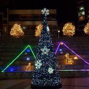 Εντυπωσιακή διακόσμηση με χριστουγεννιάτικα λαμπάκια (pics)