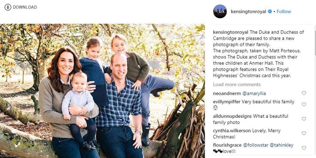 Πρίγκιπας Ηarry - Meghan Markle: Αυτή είναι η πρώτη χριστουγεννιάτικη κάρτα του ζευγαριού (pics)