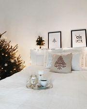 Ιδέες για να στολίσετε χριστουγεννιάτικα την κρεβατοκάμαρά σας (pics)