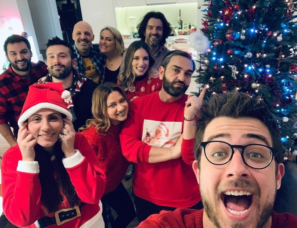 Αθηνά Οικονομάκου: Καλά Χριστούγεννα από μας!!!