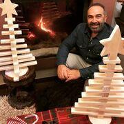 Γρηγόρης Γκουντάρας-Νάταλι Κάκκαβα: Φωτογραφίες από το υπέροχο και ζεστό σπίτι τους