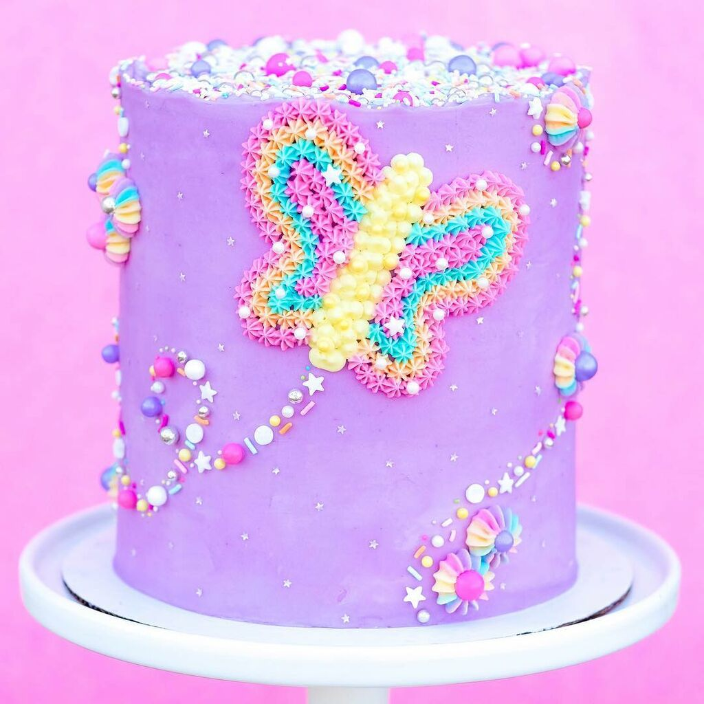Οι πιο εντυπωσιακές, ανοιξιάτικες τούρτες γενεθλίων για κορίτσια (pics)