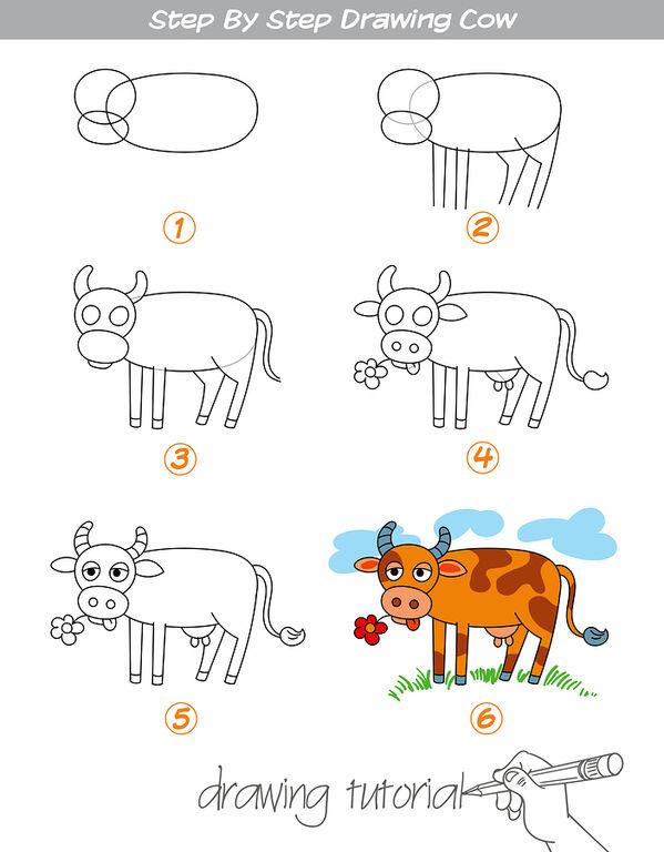 Πώς θα μάθουν τα μικρά σας να ζωγραφίζουν βήμα-βήμα ζωάκια (pics)