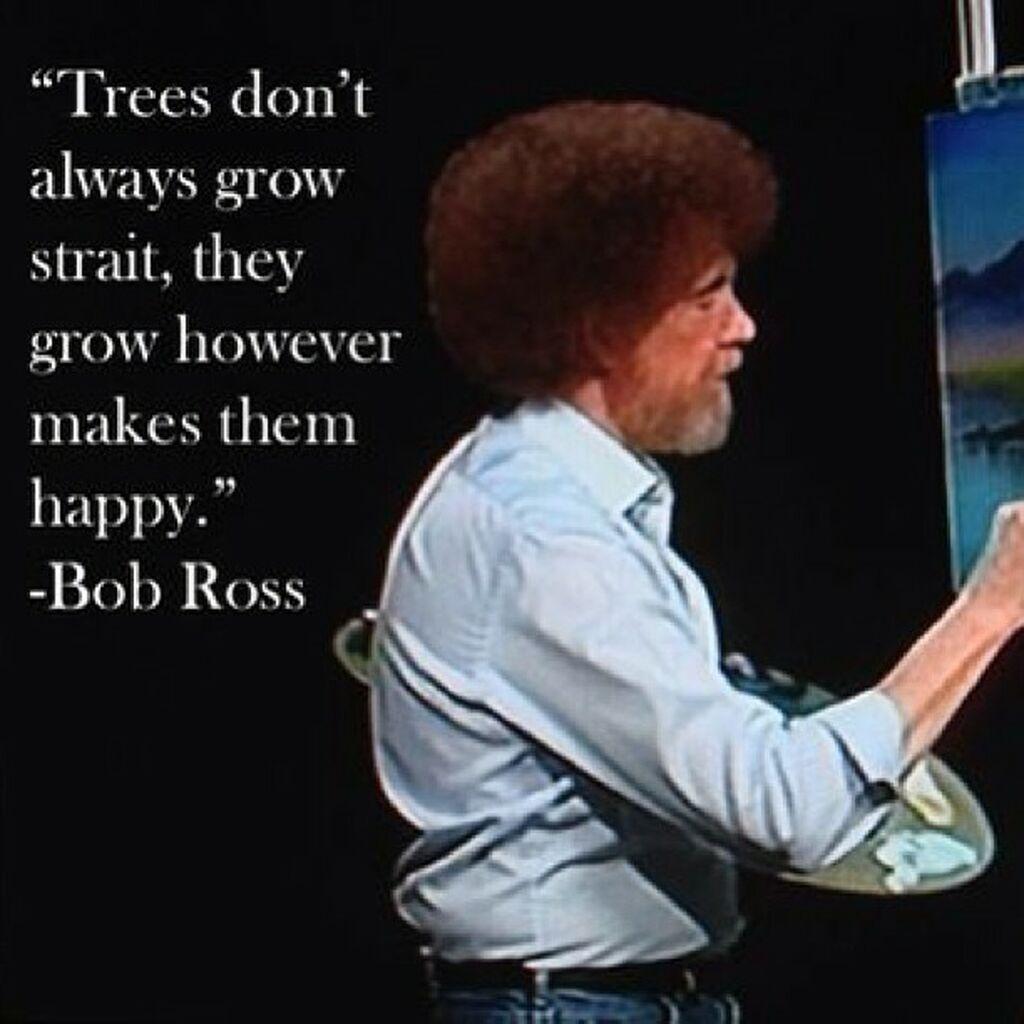 Ρετρό -  Bob Ross: Ο τηλεοπτικός δάσκαλος που μας έμαθε να ζωγραφίζουμε (vid & pics)
