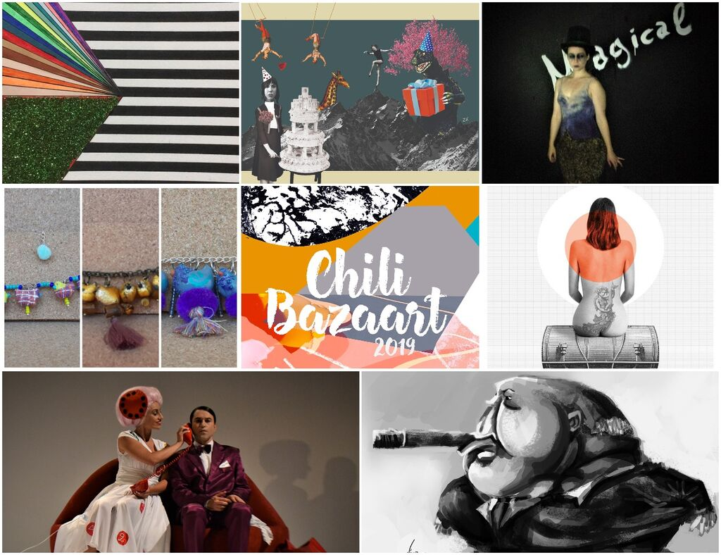 24 εικαστικοί καλλιτέχνες σας προσκαλούν στο Chili Bazaart 2019