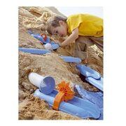 Παιχνίδι παραλίας για αγόρια και κορίτσια: Σετ τούνελ Νεροτσουλήθρες