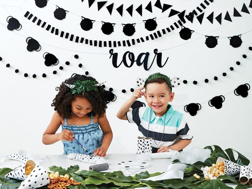 Παιδικό πάρτι εμπνευσμένο από τη ζούγκλα