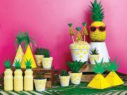 Παιδικό πάρτι με θέμα ένα αγαπημένο καλοκαιρινό φρούτο, τον ανανά