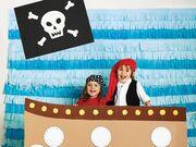 Παιδικό πάρτι με θέμα τους πειρατές που τόσο λατρεύουν τα παιδιά