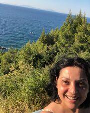 Η γνωστή ηθοποιός απολαμβάνει οικογενειαακές διακοπές στην Εύβοια