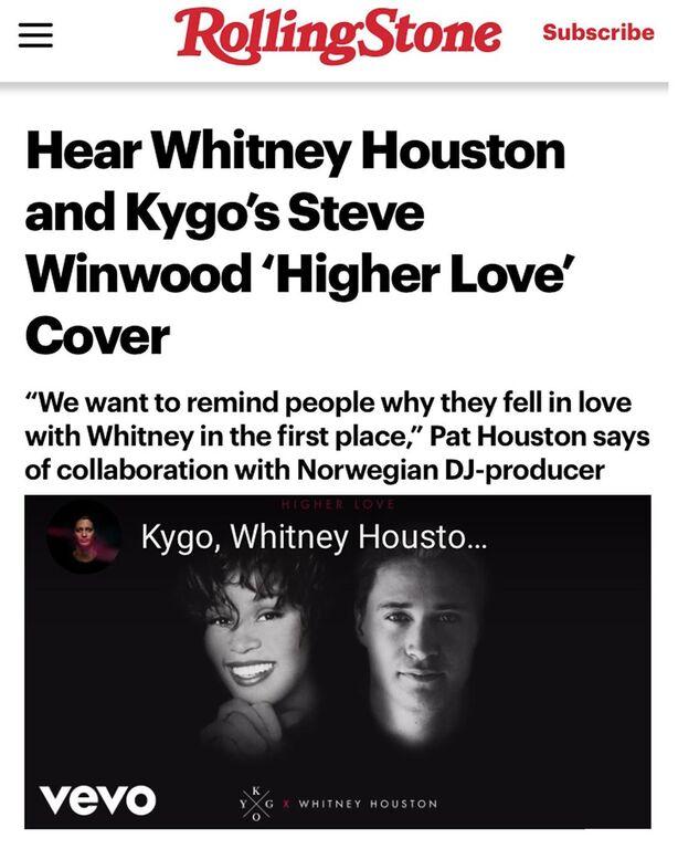 7 χρόνια μετά το θάνατο της Whitney Houston νέο τραγούδι της έρχεται να γίνει το hit του καλοκαιριού