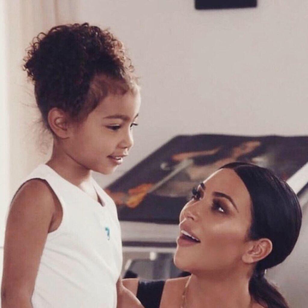 Η Kim Kardashian με την 6χρονη πλέον North West.