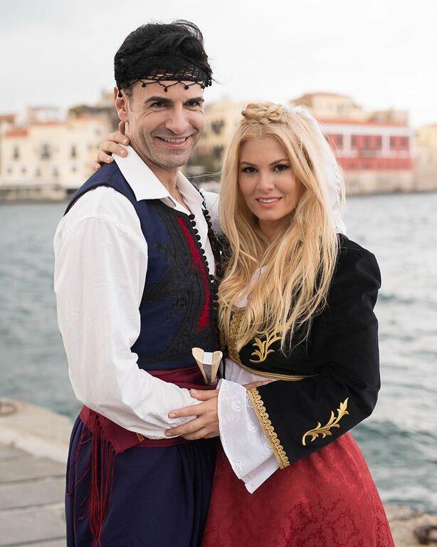 Μαρία Κορινθίου -Παναγιώτης Πετράκης: Από την παράσταση «Η Νεράϊδα και το Παλληκάρι».