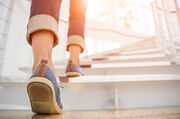 Η Megan έβαλε την άσκηση στην καθημερινότητά της. Ανέβαινε τις σκάλες με τα πόδια, χρησιμοποιούσε λιγότερο το αυτοκίνητο και έκανε έναν περιπατο με την πρώτη ευκαιρία.
