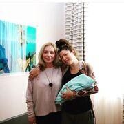 Η Κλέλια Ρένεση έφερε στον κόσμο ένα υγιέστατο κοριτσάκι τον Μάιο του 2019.