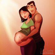 Όταν οι αγαπημένοι ήρεωες των παραμυθιών γίνονται... γονείς (pics)
