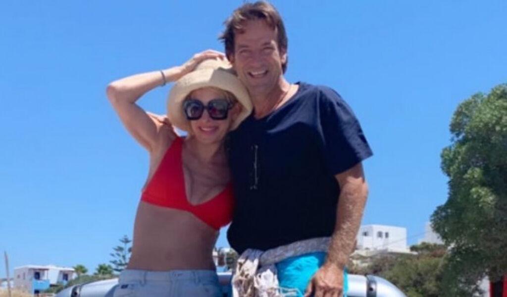 Η Ελένη τα καλοκαίρια της τα περνά στα ελληνικά νησιά και φυσικά στα Άχλα της Άνδρου
