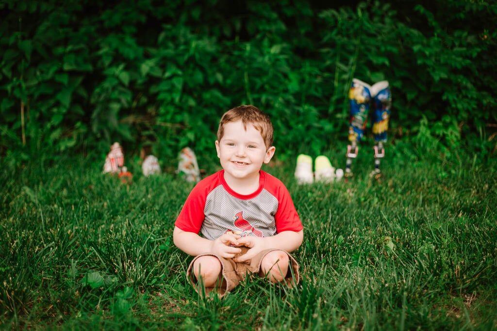 Μαθήματα θέλησης από ένα 3χρονο - H συγκινητική ιστορία του μικρού Ryker (pics)