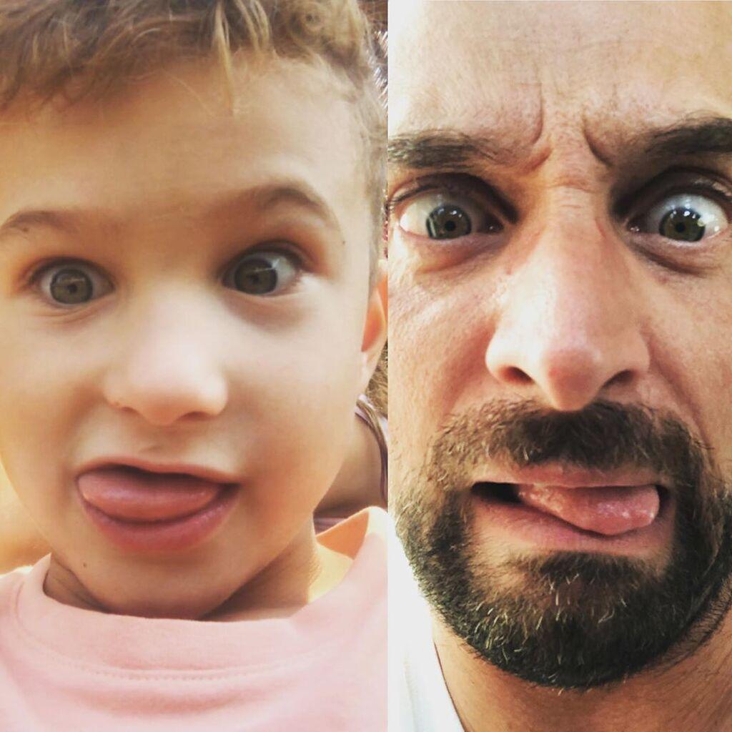 Ο Λιανός έχει τρία παιδιά. Εδώ μαζί με τον μεσαίο του γιο, Κωσνταντίνο.