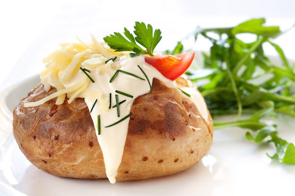 Ψητή πατάτα