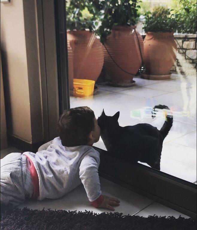Αυτή είναι η τελευταία φωτογραφία που ανέβασε η Ελληνίδα ηθοποιός με τον γιο της.