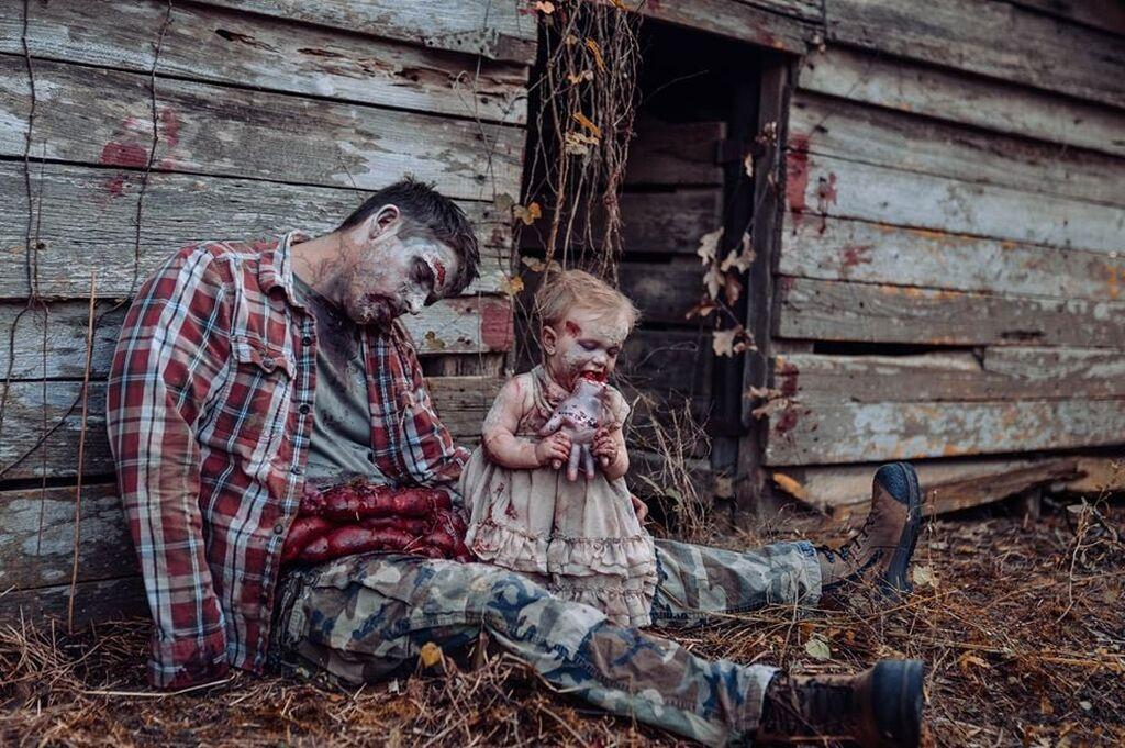 Φωτογράφησε την κόρη της και έγινε viral εξαιτίας του τρομακτικού θέματος που διάλεξε (pics)