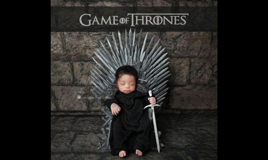 Νεογέννητα ντύνονται ήρωες του Game of Thrones και τρελαίνουν το διαδίκτυο (pics)
