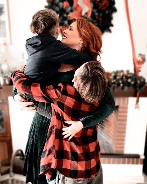 Η Σίσσυ Χρηστίδου λατρεύει τους γιου της.