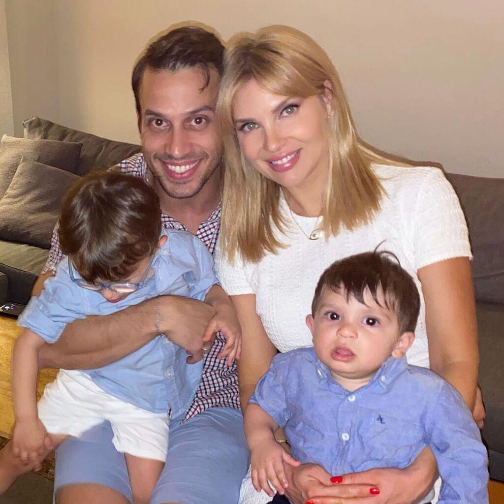 Χριστίνα Αλούπη: Ο μικρότερος γιος της είχε γενέθλια - Δείτε την τούρτα υπερπαραγωγή (pics)
