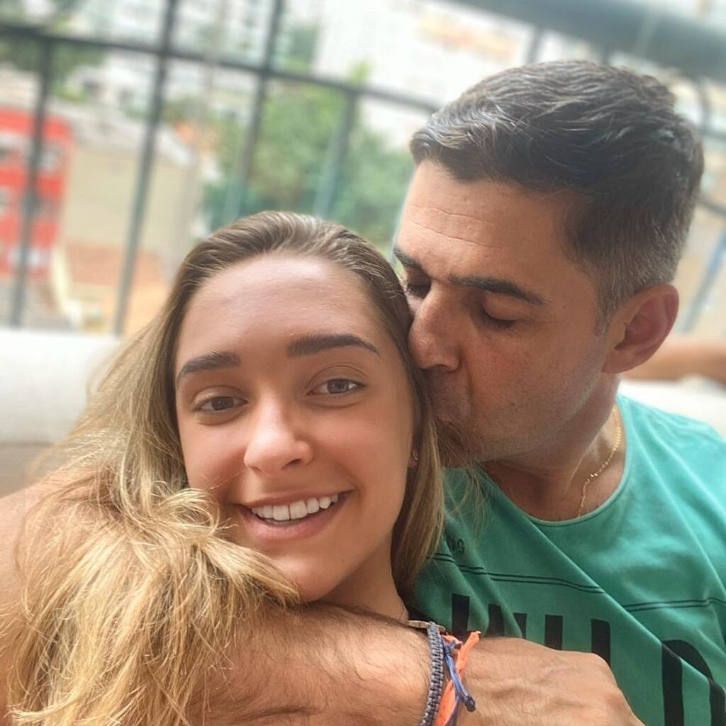 Ο Doda Miranda με την 20χρονη πλέον κόρη του, Vivian.