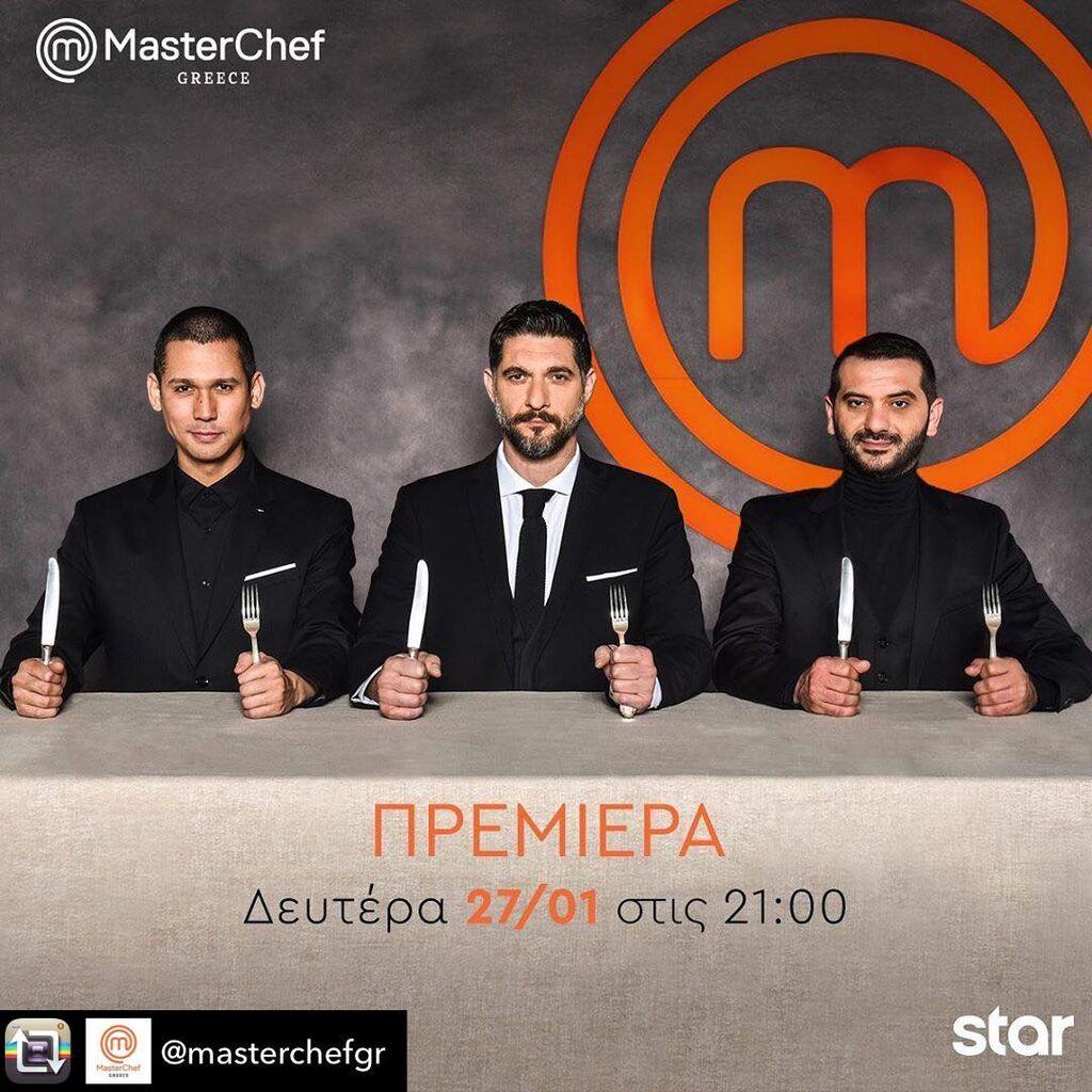 Ο Πάνος Ιωαννίδης είναι ένας από τους κριτές στο παιχνίδι μαγειρικής Master Chef.