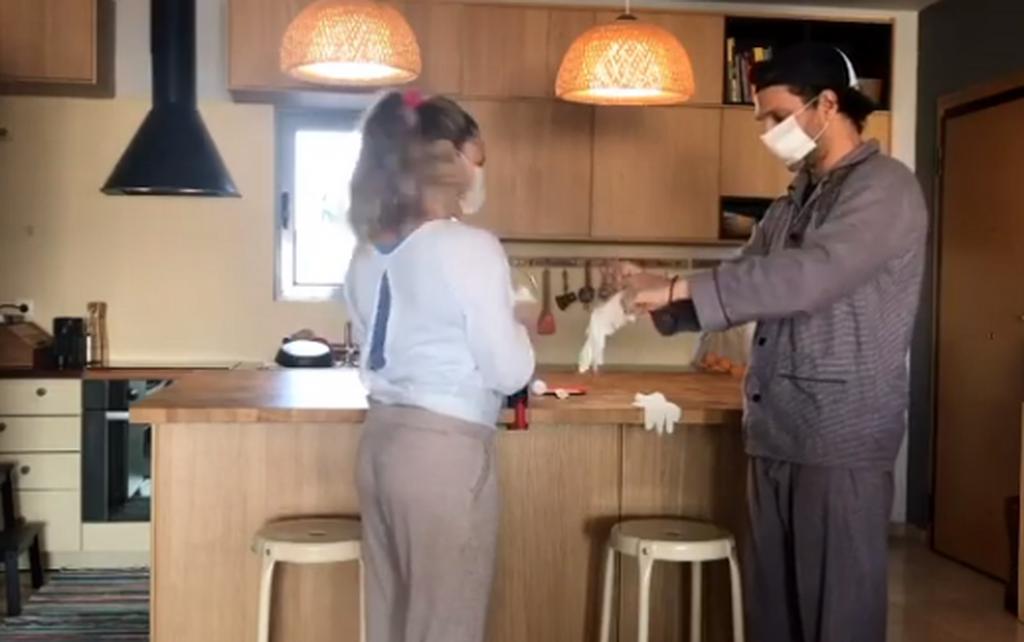 Γιώργος Χρανιώτης: Δείτε την γυναίκα του να χορεύει με φουσκωμένη κοιλίτσα λίγο πριν γεννήσει (vid)