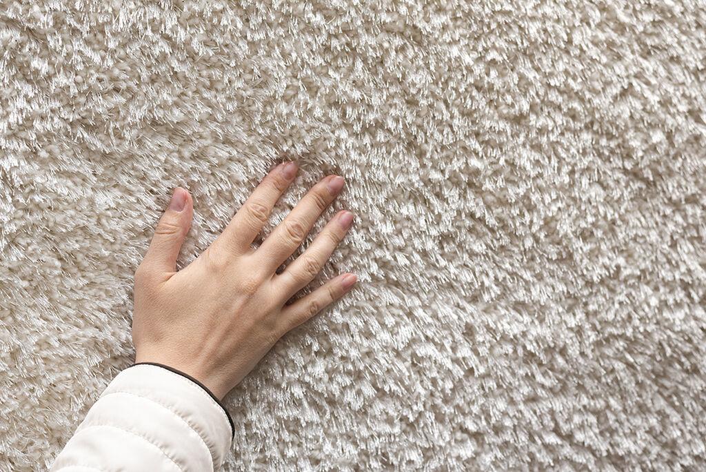 Αρχικά, είναι σημαντικό να τα σκουπίσετε καλά με την ηλεκτρική σκούπα ώστε να βεβαιωθείτε ότι έχει αφαιρεθεί όλη η σκόνη. Σκουπίστε το χαλί και από τις δύο πλευρές.