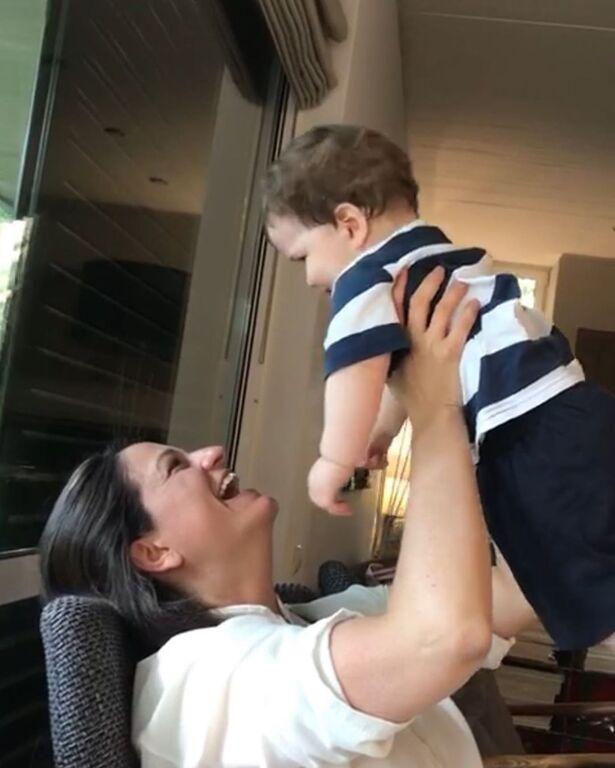 Νίκη Κεραμεώς: Η φωτογραφία με τον γιο της Κωνσταντίνο με αφορμή τη γιορτή του (pics)