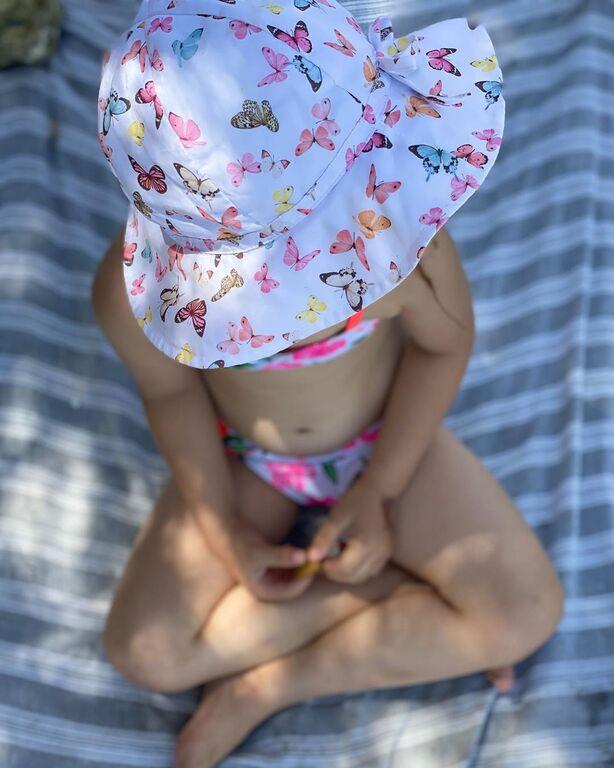 Αποστόλης Τότσικας: Η αυθόρμητη φωτογραφία με την κόρη του στην παραλία