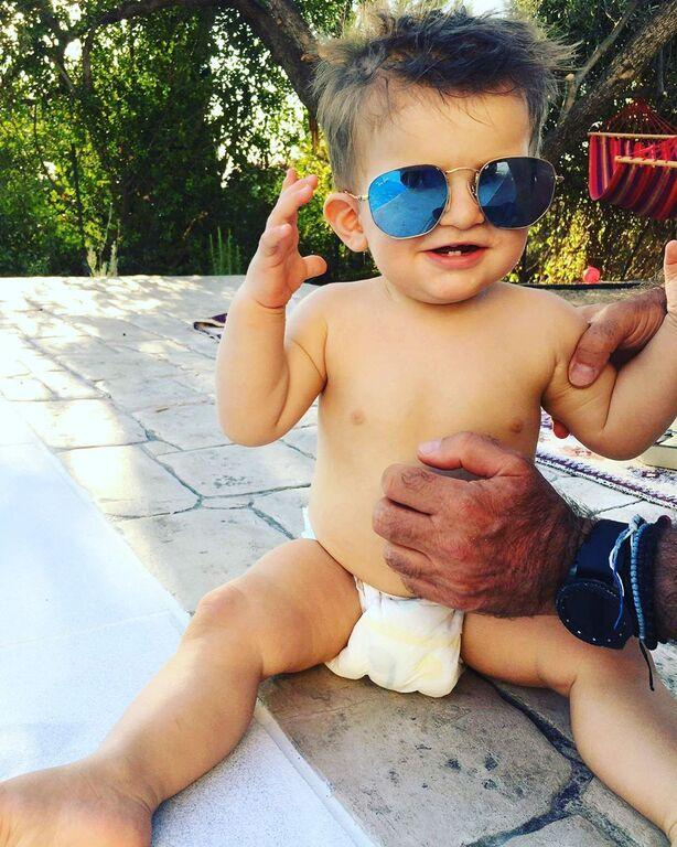 Φωτεινή Αθερίδου: Ανέβασε την πιο χαριτωμένη φώτο του γιου της (pics)