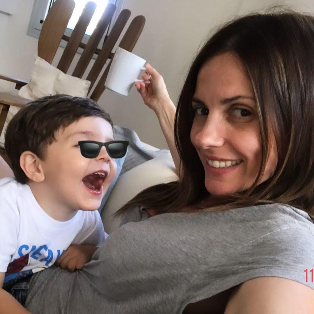 Ελένη Καρποντίνη: Η απίθανη φώτο του μικρού γιου της που είχε γενέθλια