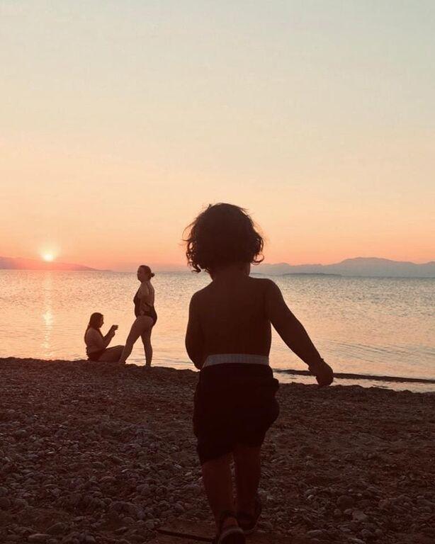 Κατερίνα Παπουτσάκη: Η απίστευτη φωτογραφία με το μικρό Κιμωνάκι της