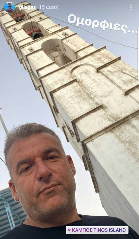 Γιώργος Λιάγκας: Φώτο από την εξόρμηση στην Τήνο με τους γιους του