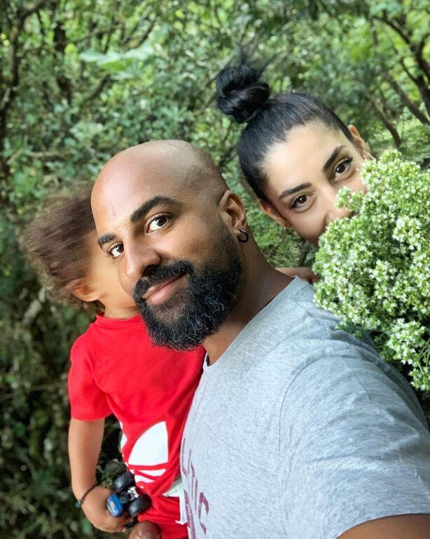Ησαΐας Ματιάμπα: Μας δείχνει τον γιο του μετά από καιρό (pics)