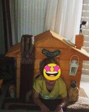 Ευδοκία Ρουμελιώτη: Έτοιμη για το Halloween -Τι έφτιαξε με τον γιο της