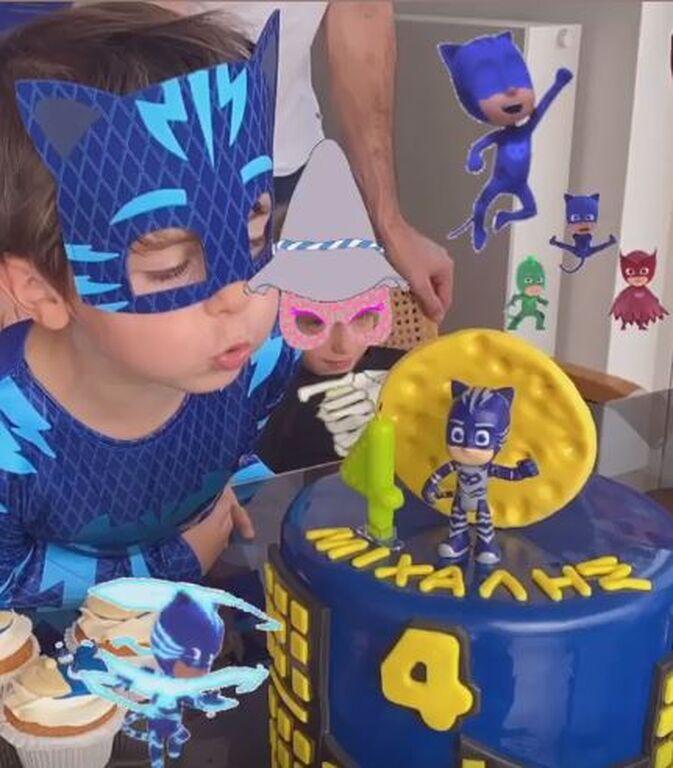 Ζενεβιέβ Μαζαρί: Φώτο από το πάρτι γενέθλιών του γιου της