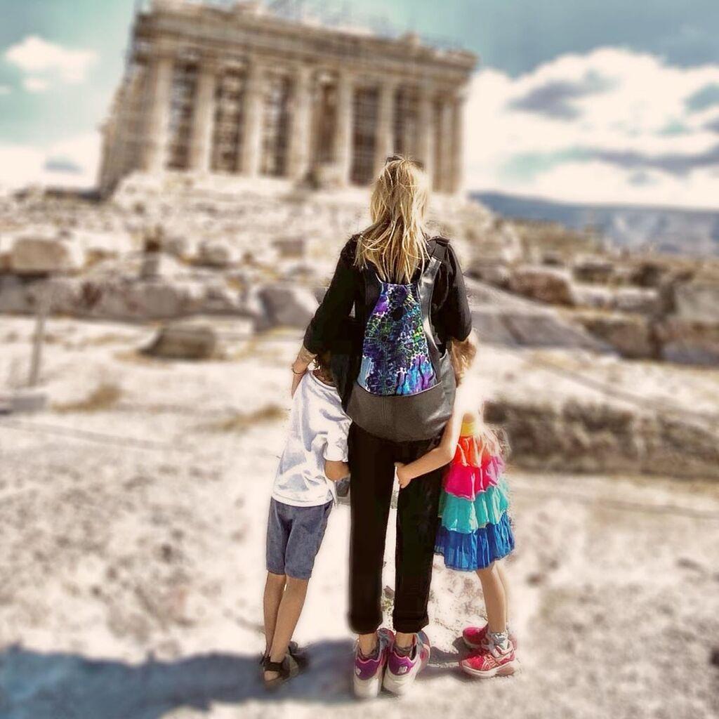 Ρούλα Ρέβη: Τι κάνει με την κόρη της κάθε πρωί πριν φύγουν για το σχολείο