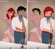 Χιουμοριστικά σκίτσα με σκηνές της Disney φέρνουν τα παραμύθια στο σήμερα