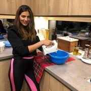 H Σταματίνα Τσιμτσιλή έφτιαξε δύο carrot cakes....
