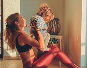Η Μαρία Λουίζα Βούρου έκανε γυμναστική με τον γιο της.