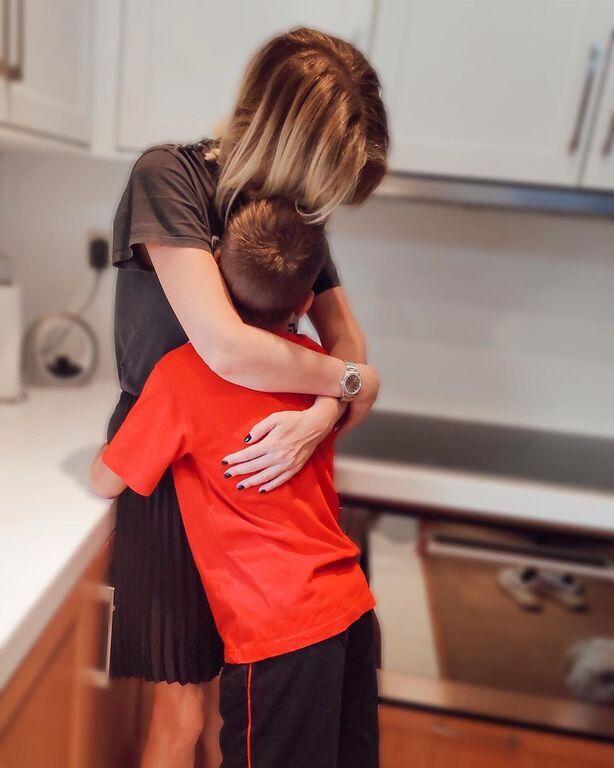 Νίκη Κάρτσωνα: Μας δείχνει τον γιο της μετά από καιρό