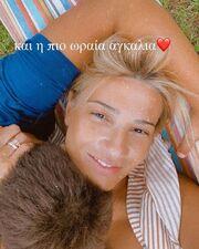 Φαίη Σκορδά: Ενθουσιάστηκαν οι γιοι της με αυτό που  παρήγγειλε να φάνε