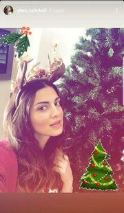 Σταματίνα Τσιτμτσιλή: Η χριστουγεννιάτικη φωτογραφία με την κόρη της